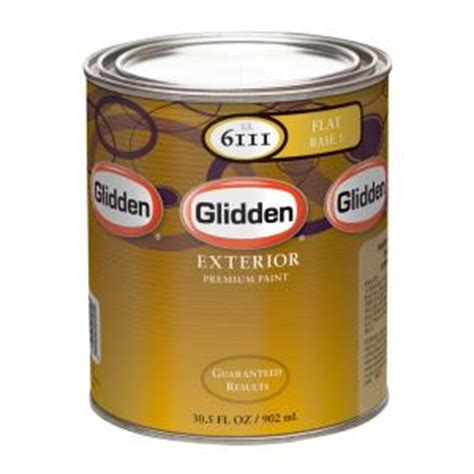 home depot paint quart glidden premium 1 qt flat light colors exterior