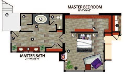 master bedroom and bath floor plans 5 master suite design concepts professional builder