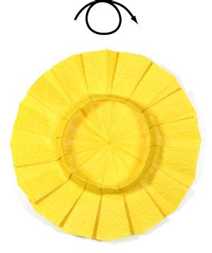 origami sunflower step by step how to make an origami sunflower page 7