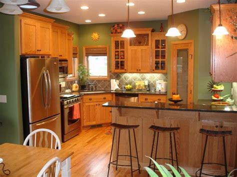 Painting Old Kitchen Cabinets Color Ideas best 25 green kitchen walls ideas on pinterest green