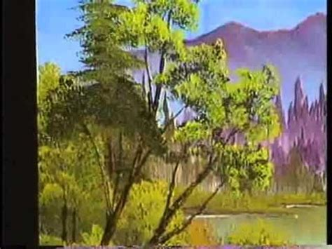 bob ross acrylic painting lesson bob ross episode lake 5 5