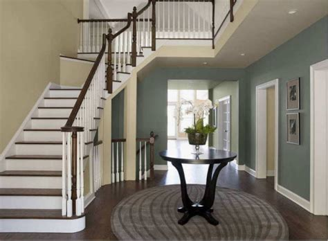 paint colors for entrance hallway interior painting costs make a statement with color