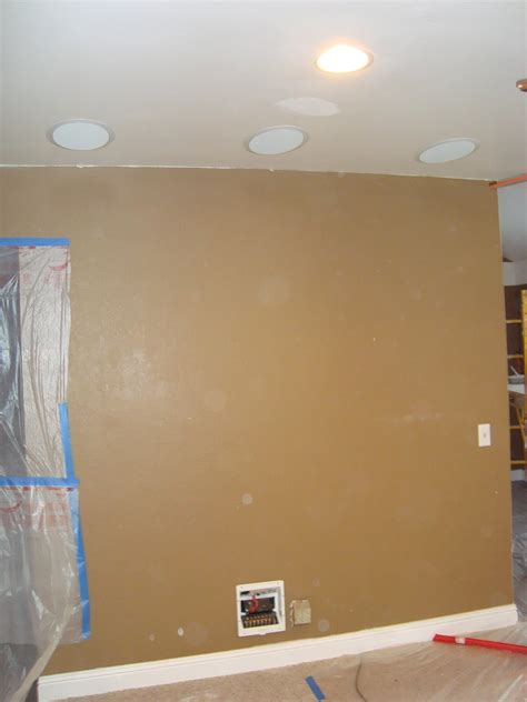 in ceiling speakers installation 5 1 home theater in ceiling speaker installation before
