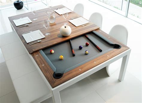 pool table dining combination table and dining autos post