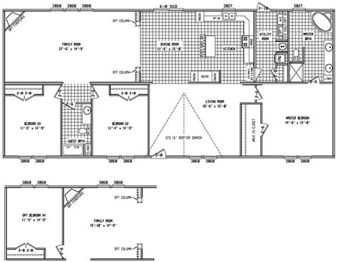 3bed 2bath floor plans 31 best house plans images on barndominium