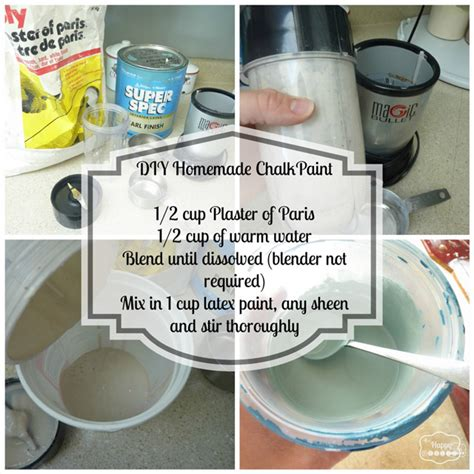 diy chalk paint thin diy chalk based paint project thediydreamer