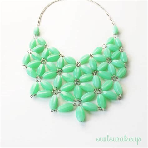 necklace crafts for diy j crew inspired necklace think crafts by createforless