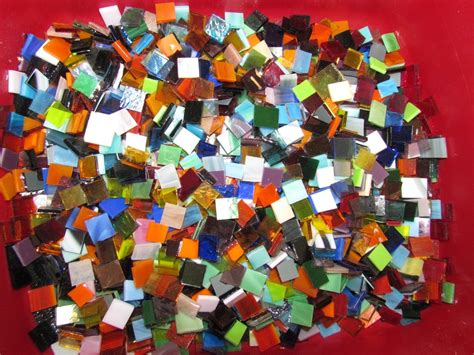 mosaic tiles for craft projects mixed glass tile for mosaic or craft projects 100 count