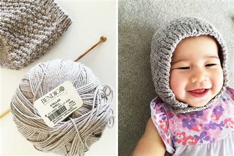 knitting yarn for beginners free baby bonnet hat pattern easy knitting for beginners