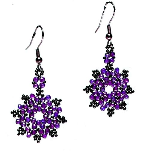 free beaded earring patterns beaded earring patterns free patterns