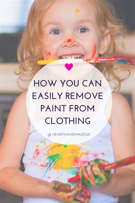 acrylic paint how to remove from clothes best 25 remove paint from clothes ideas on