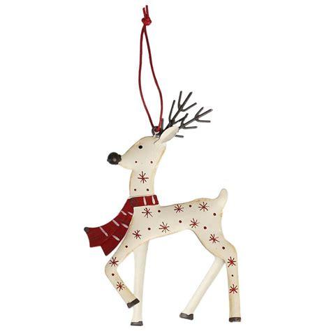 white reindeer decorations white reindeer decoration dotcomgiftshop