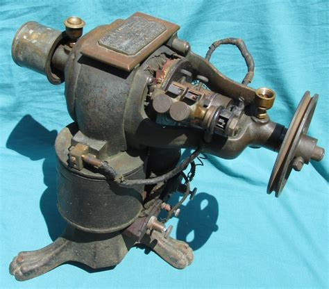 Antique Electric Motor by Www Antiqbuyer Past Sales Archive Antique Electric Motors