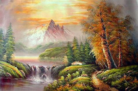 bob ross paintings for sale original cheap freehand 17 style of bob ross painting in