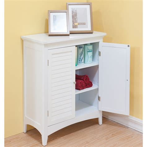 White Bathroom Floor Storage Cabinet white floor cabinet neiltortorella