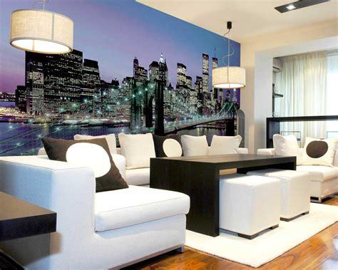 living room wall murals wall mural ideas diy inspiration for home decor