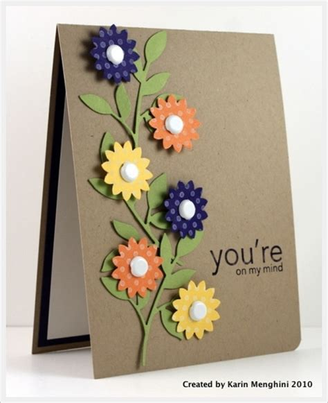 card idea 30 cool handmade card ideas for birthday and