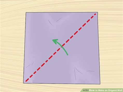 how to make a origami wolf step by step how to make an origami wolf with pictures wikihow