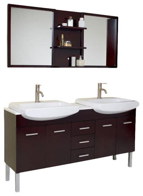 59 inch sink bathroom vanity 59 inch espresso modern sink bathroom vanity