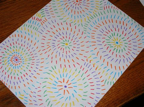 drawing crafts for ten and a easy firework drawings chainimage