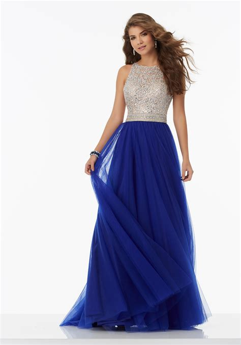 fully beaded prom dresses a line prom dress featuring a fully beaded bodice and soft