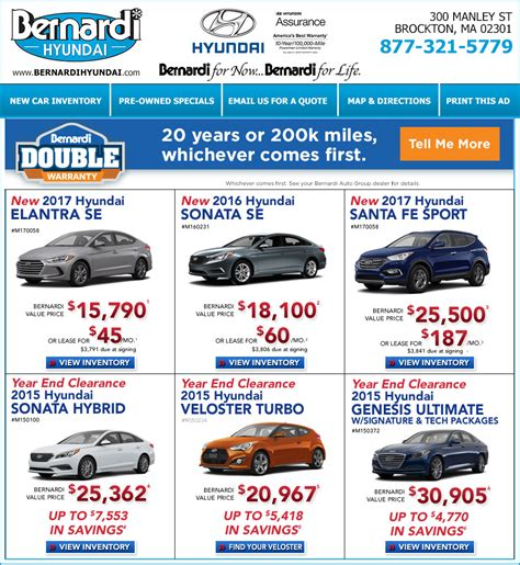 Bernardi Hyundai Brockton by Shop Bernardi Hyundai Of Brockton At Boston