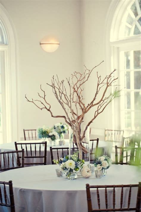 wedding centerpiece branches centerpieces with tree branches