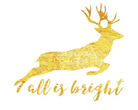 gold reindeer free gold foil reindeer silhouette printable entirely