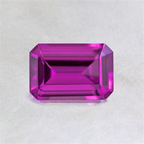 emerald purple 6x4mm purple emerald cut sapphire spusl6x4em3