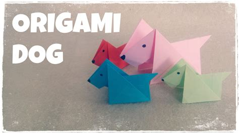 how to make origami dogs image gallery origami
