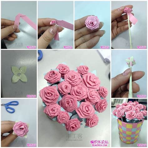 how to make an origami bouquet diy origami bouquet