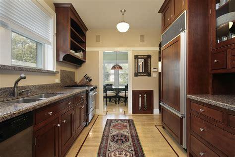 corridor kitchen design 22 luxury galley kitchen design ideas pictures