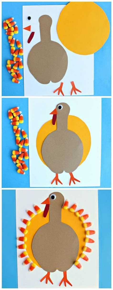 how to make a turkey craft project 20 diy thanksgiving craft ideas fall season crafts for