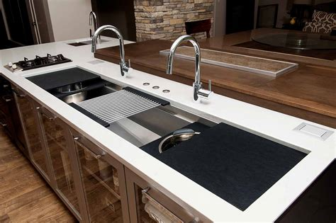 oversized stainless steel kitchen sinks ideal workstation 7 iws 7