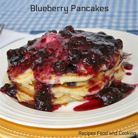 recipe blueberry pancakes snickerdoodle pancakes