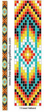 indian bead weaving patterns bead loom patterns on loom beading peyote