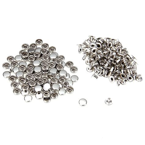 rivets for jewelry 100 iron silver rivet studs 6mm for jewelry t1