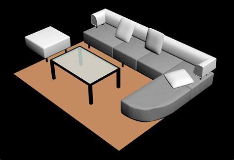 l shaped sofa table l shape sofa table 3d model plan n design