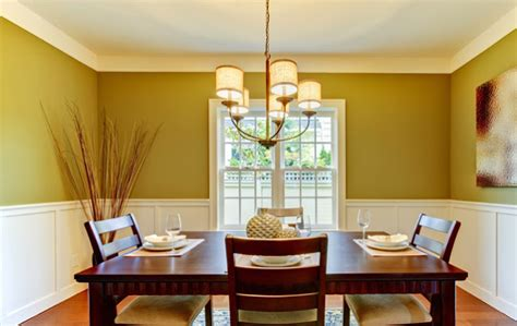 colors for dining room walls dining room color schemes with chair rail 187 dining room