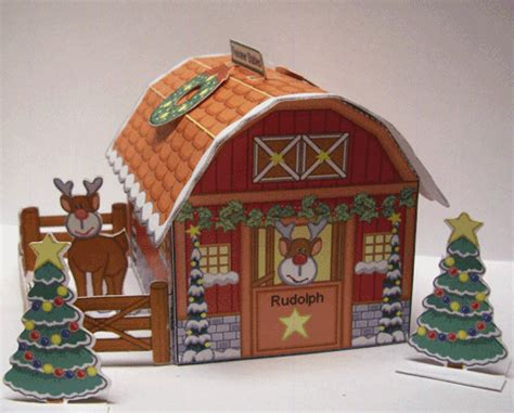 reindeer stable paper pulse spot reindeer stables and more