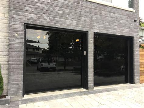 modern glass garage doors modern glass garage door vaughan modern doors