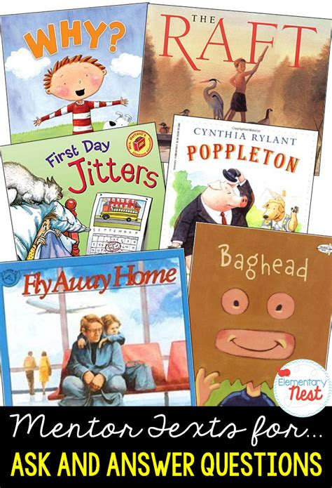 picture books for inferencing second grade nest primary mentor texts for common
