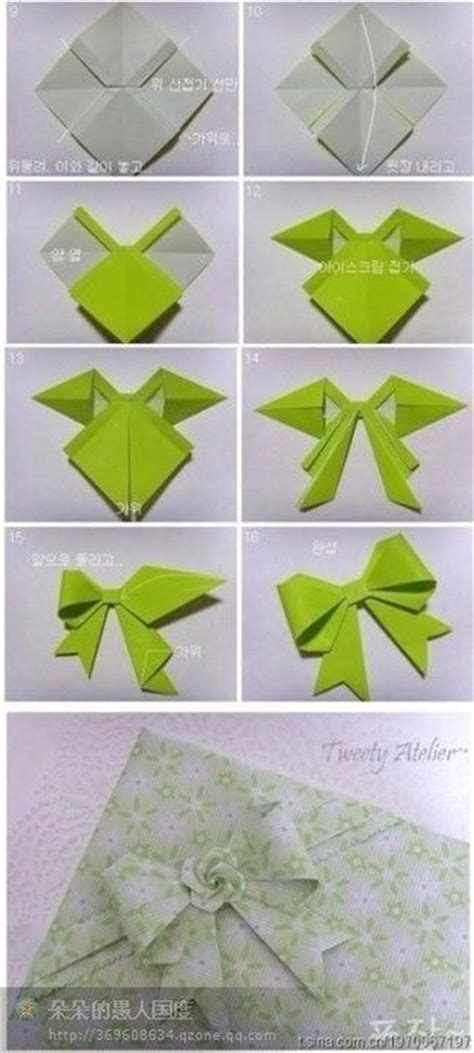 how to make origami crossbow 25 best ideas about origami bow on paper bows