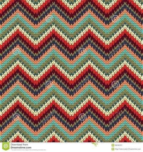 zig zag knitting pattern seamless zigzag knitting pattern stock image image 38248161