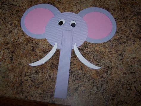 elephant crafts for e is for elephant craft elephant theme