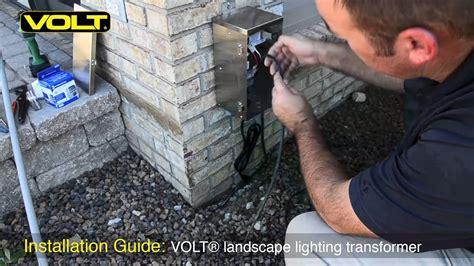 landscape lighting installation guide volt 174 low voltage landscape lighting transformer installation