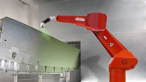 spray painting by robot easy paint robot robotic solution by sames kremlin