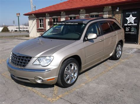 2007 Chrysler Pacifica Limited by 2007 Chrysler Pacifica Limited Sport Utility 4 Door 4 0l