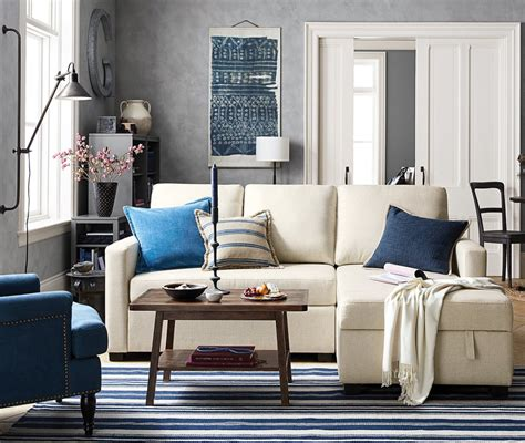 pottery barn small spaces small space big style pottery barn