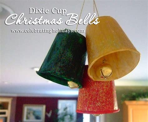 bell craft dixie cup diy bells craft celebrating holidays